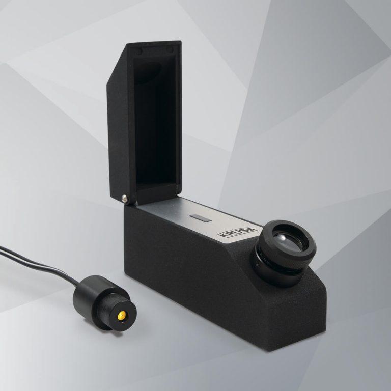Edelstein-Refraktometer ER604-LED