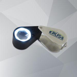 Triplete de lupa UV-LED LUK10-21-UV-LED