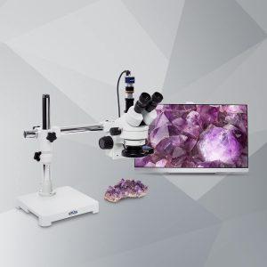 Stereo-Zoom-Mikroskop Schwenkarm MSZ500-T-S-RL